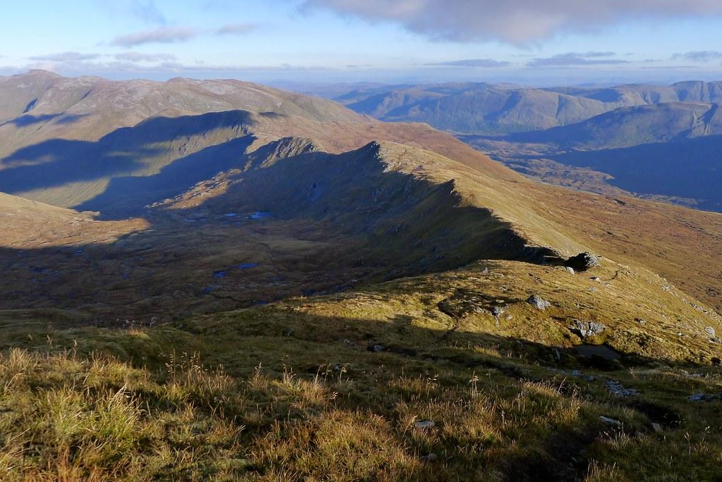 East ridge of Sgùrr nan Ceathreamhnan