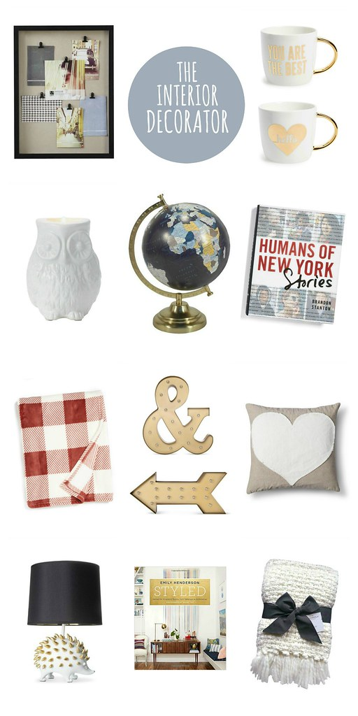 gift guide for the interior decorator