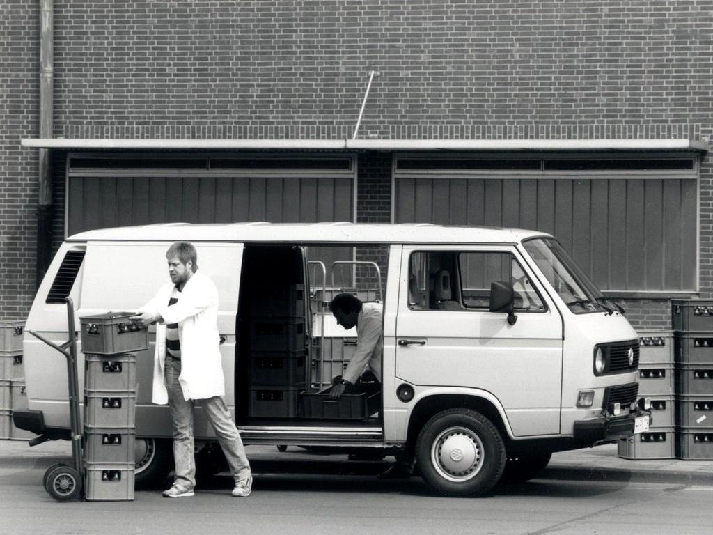 Фургон Volkswagen T3 Transporter Kasten. 1979 - 1992 годы