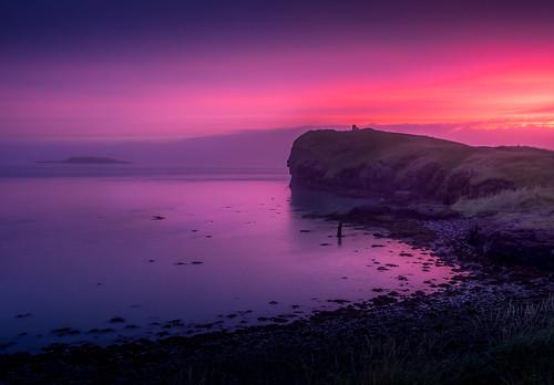 magenta hofn colorful landscape sunset amazing bay dream ocean iceland travel höfníhornafirði east is