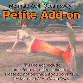 """:KH: Petite Add-on""""Mermaid AO4 -Ocean Sway-"""""""
