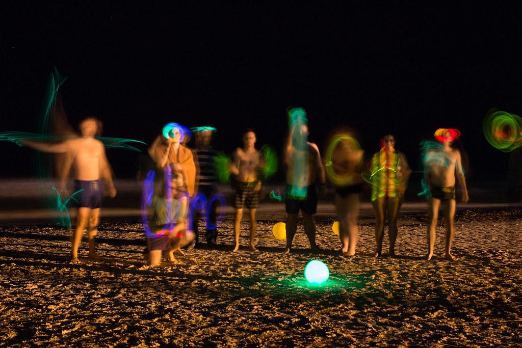 valot ja yöuinti, Coworking Camp, Djerba, Tunisia