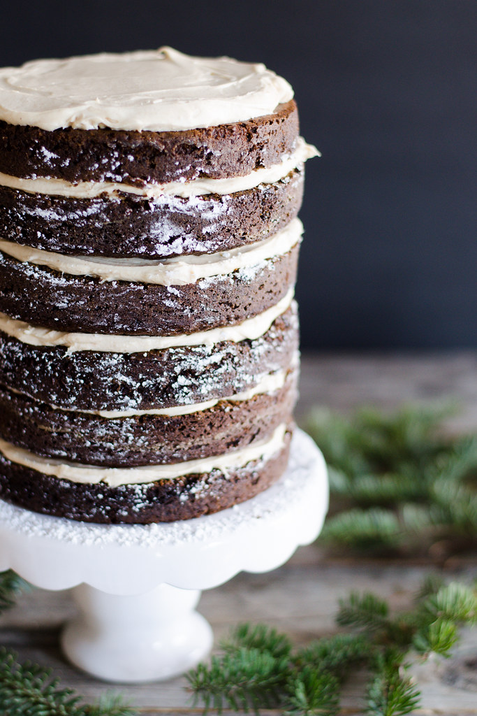 Gingerbread Layer Cake with Cream Cheese Frosting 21