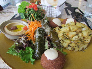 Byblos Vegan Platter