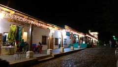 Concepcion de Ataco at night