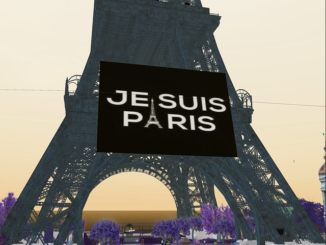Paris -  Je Suis Paris, Jesuis France II -Black Day of Infamy