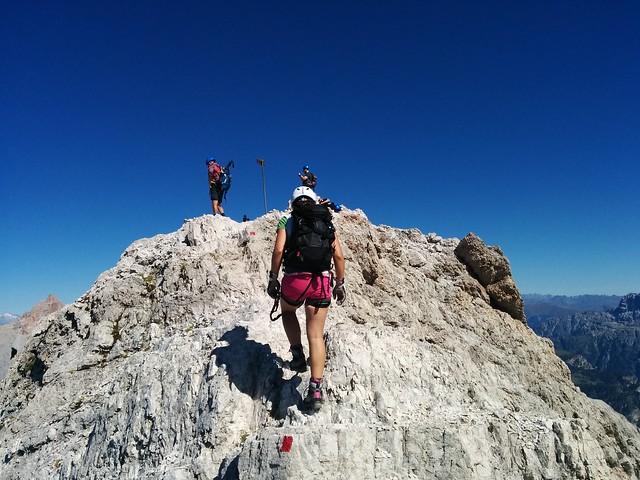 Gipfel Cresta Bianca, 2.932 m