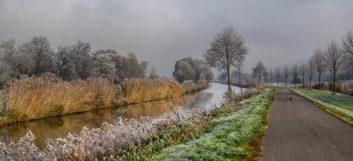 Balade le long du canal: au retour