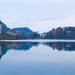 Lake Bled, Slovenia, panoramic view by Dejan Hudoletnjak