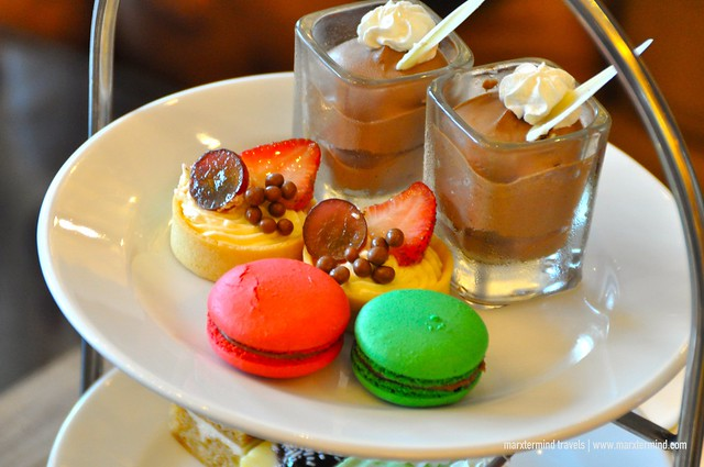 Afternoon Tea Snacks at the Lobby Lounge