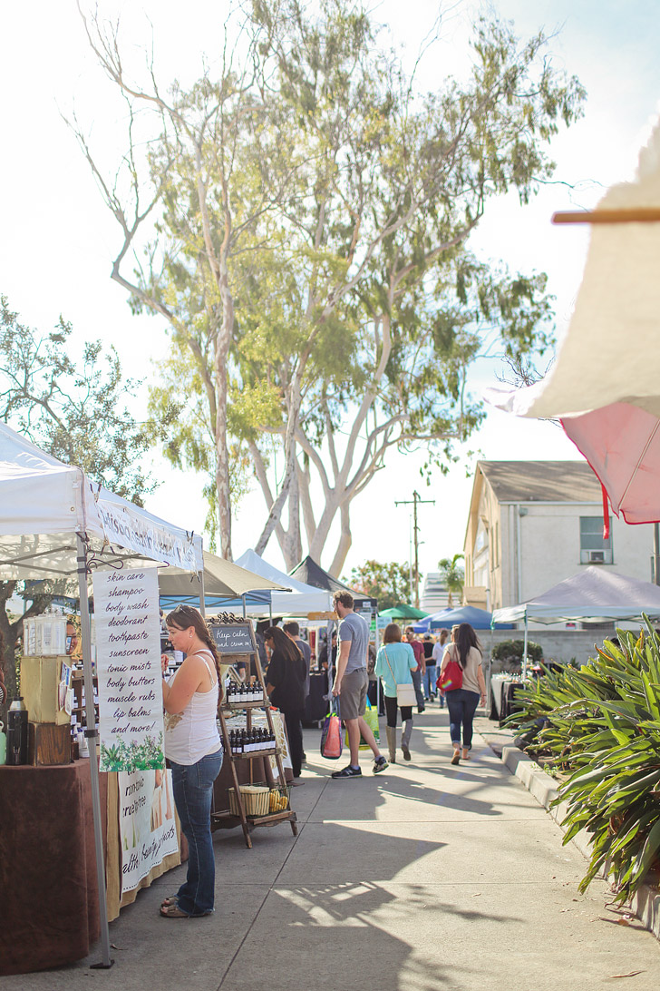 This is the Local Favorite Farmers Market- Hillcrest Farmers Market San Diego.
