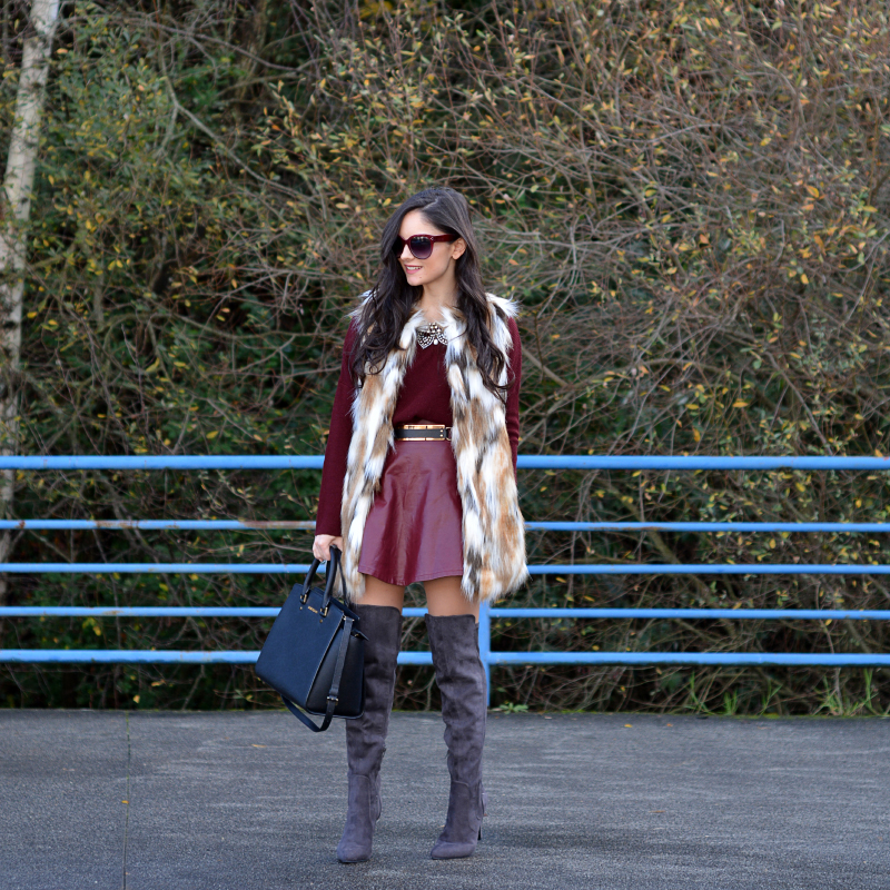 zara_ootd_highboots_burdeos_burgundy_vest_michael kors_04