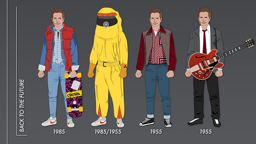 Back to the Future - Trilogy - Evolution - Marty