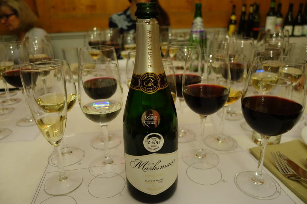 M&S Wine Tasting
