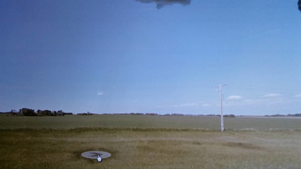 Gorgeous sunny day in the Prairie. July 2013. #ridingthroughwalls #xcanadabikeride #googlestreetview #saskatchewan