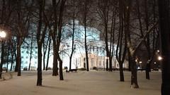 Teatro Bolsoi Nacional de Ópera y Ballet.  Calle Plošča Paryžskaj Kamuny. Minsk (Bielorrusia).