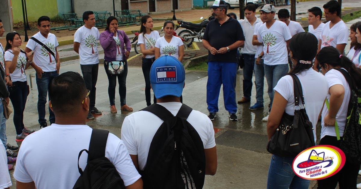 GAD Municipal apoya campaña universitaria