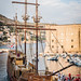 "Arribo del ""Karaka"" al muelle de Dubrovnik"