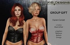 KiB Designs - Karen Corset - Group Gift!!!
