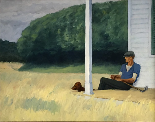 Edward Hopper, Clamdigger, 1935