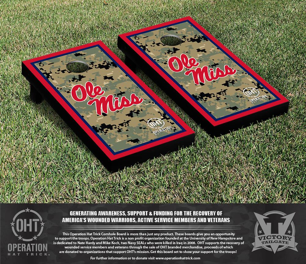 Ole Miss Rebels Operation Hat Trick Border Version