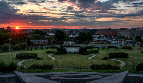 Sunrise Over Alexandria by Geoff Livingston