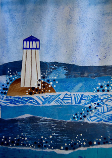 10 - Homer - Seascape Collage - Laura