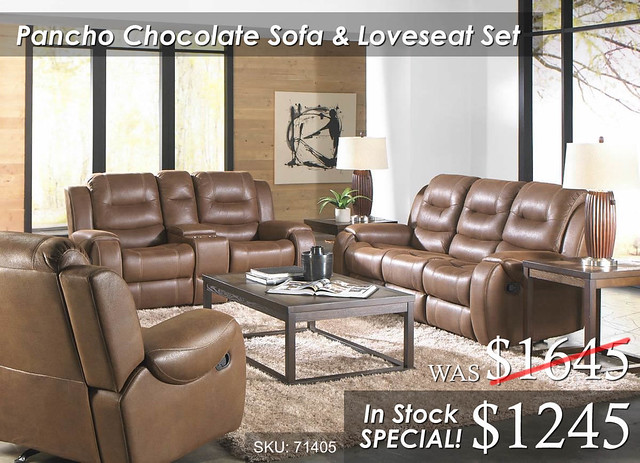 Poncho Chocolate 71405_Living Room