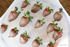 Chocolate dipped strawberries by Spike's Shoes