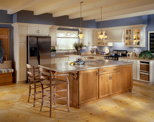27 rustic kitchen designs page 2 of 2 zee designs for Kraftmaid islands