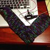 Purple camo effect amuses me no end with these socks! #knitting #ravelry #socks