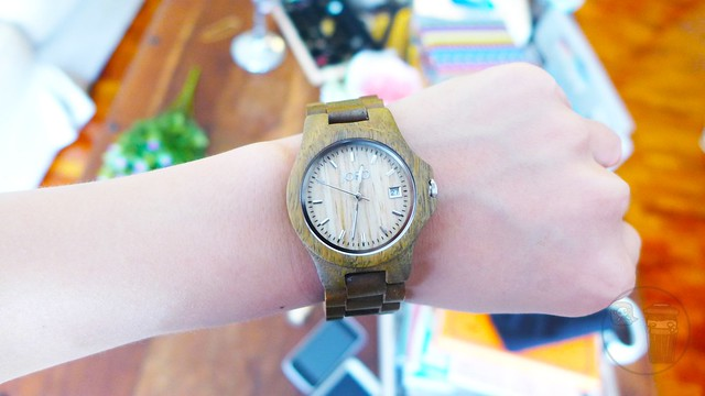 jord ely wooden watch