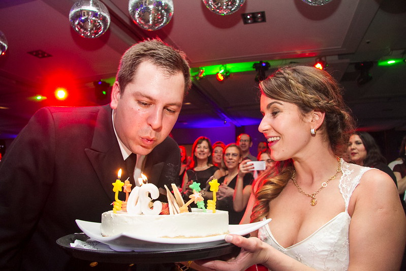 Casado y de cumpleaños