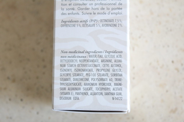 Reversa Anti-Wrinkle Cream SPF 30 ingredients