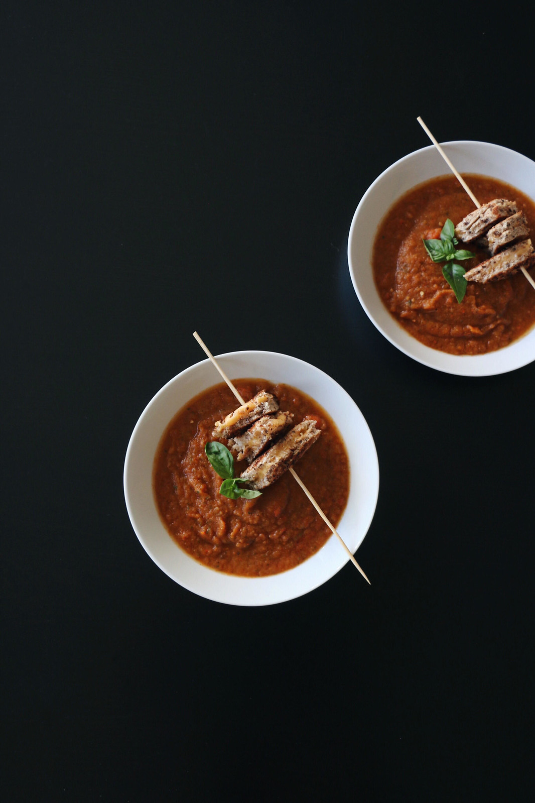 tomato soup & grilled cheese skewer 3