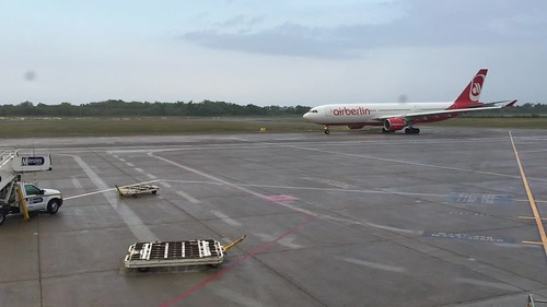 Arrival of my plane home