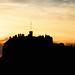 Edinburgh castle dusk by ccgd