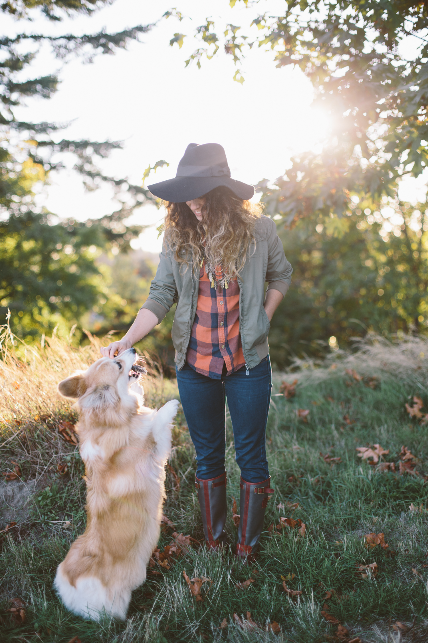 Pacific Northwest Fall Outfit | Liz Morrow Studios