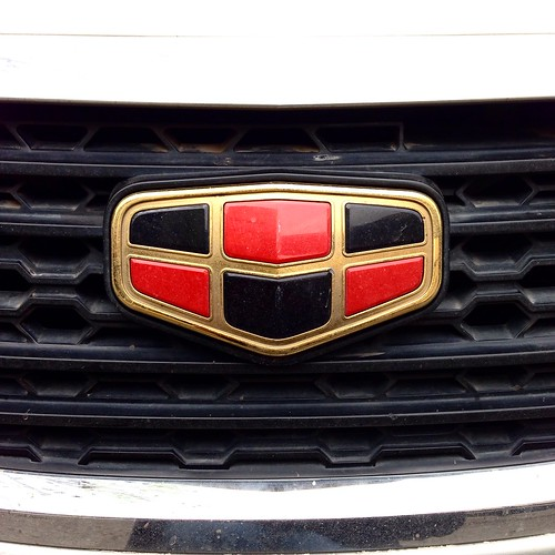 Emgrand - Geely badges (Chile)