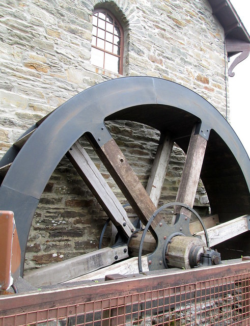 Falls of Dochart Mill Wheel