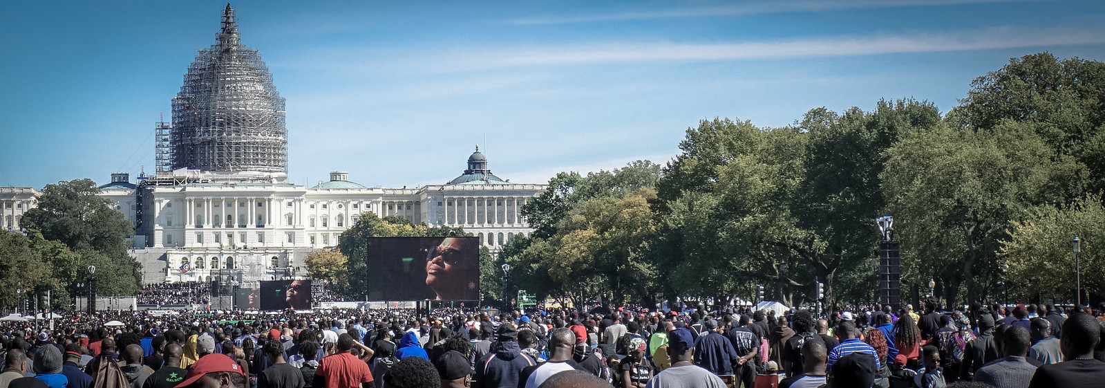 Million Man March Washington DC USA 09677
