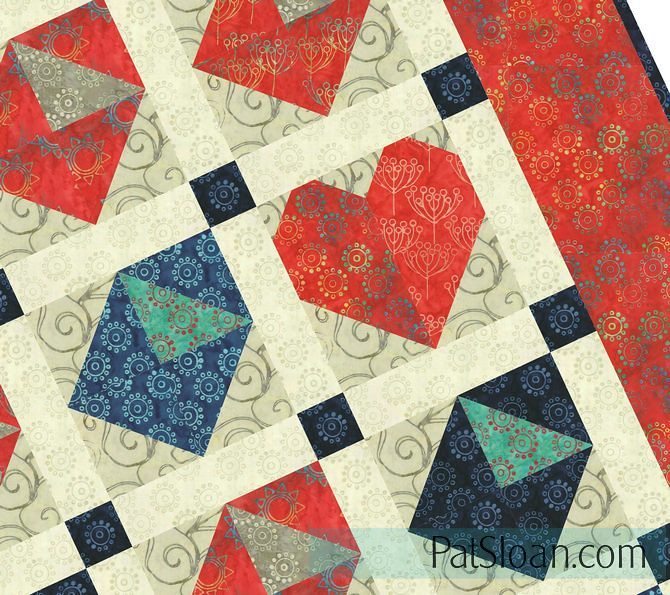 letters from home quilt twisted