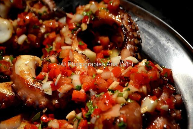 Poulpe à la Plancha aux Petits Légumes © Ana Luthi Tous droits réservés 11