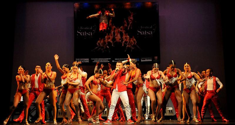 Derroche de alegría y magia en el lanzamiento del Festival Mundial de Salsa
