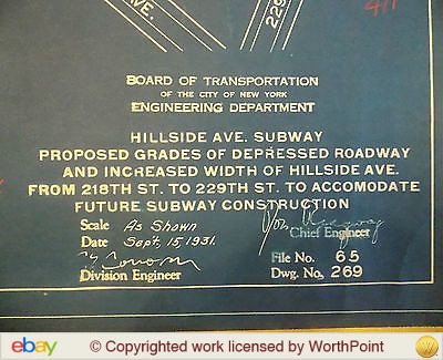 Hillside Avenue Widening at Springield Boulevard and 219th Street for the future extension of the Hillside Avenue Subway