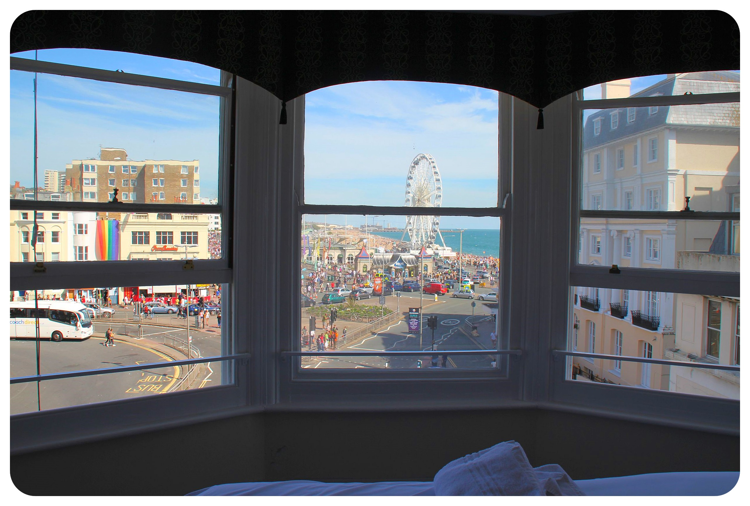 YHA Hostel Brighton private room view