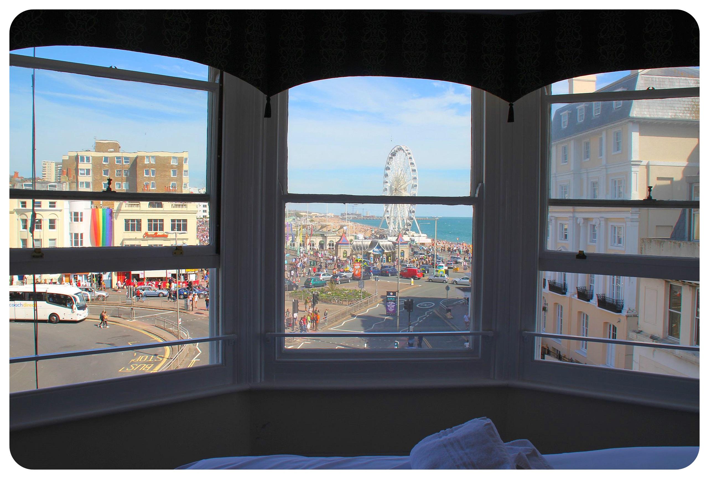 YHA Hostel Brighton private room view
