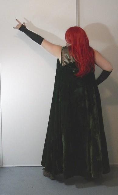 Poison Ivy Costume 6
