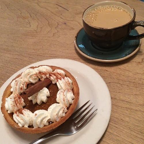 Finally - I get some pumpkin pie #yegfood