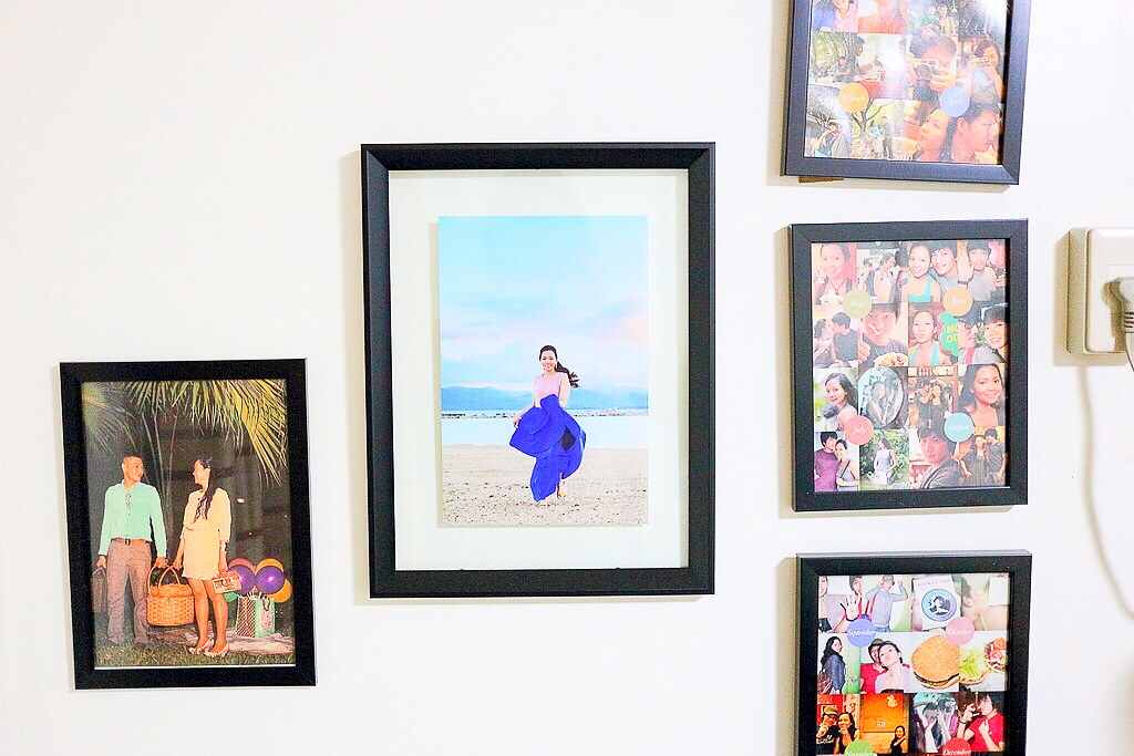 An almost blank gallery wall means more space for more memories.